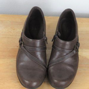 Clarks Shoes Leather Bootie Size 7 M